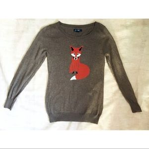 Old Navy Sweaters - Pullover Fox Sweater
